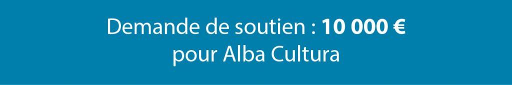 Soutien Alba Cultura