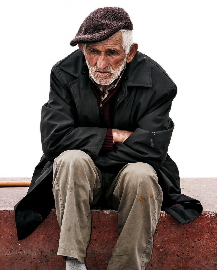 Homme sans-abri