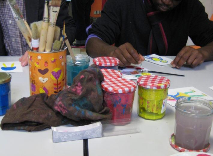 Ateliers d'art thérapie