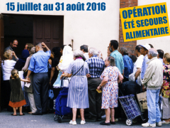 Opération secours alimentaire