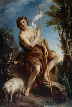 François Lemoine - Saint Jean-Baptiste (1726)