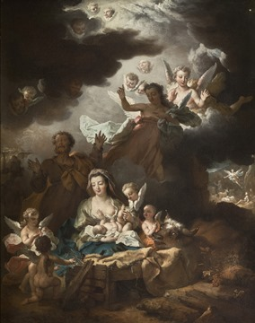 Nicolas de Largillière - Nativité (vers 1730)