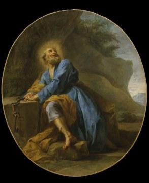 Jean Restout - Saint Pierre en prière (1728)