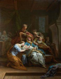 Jean Restout - La naissance de la Vierge (1744)