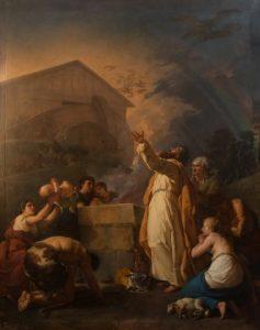 Jean-Hugues Taraval - Le Sacrifice de Noé (1783)