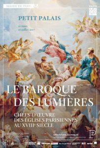 Affiche exposition Le baroque des lumières
