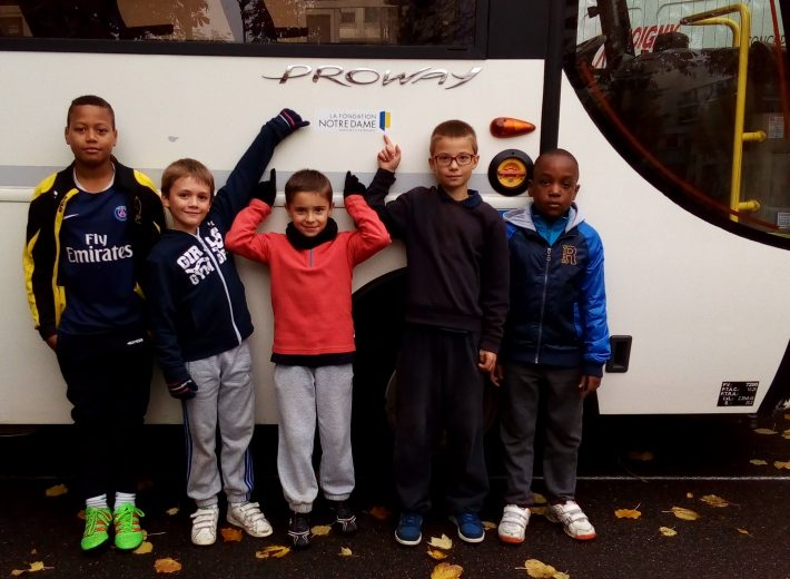 Bus du patronage Jeanne-d'Arc de Vaugirard