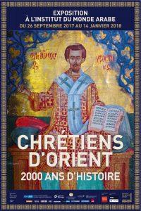 Affiche Exposition Chrétiens d'Orient