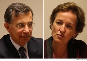 Gilles Denoyel et Béatrice Durfort