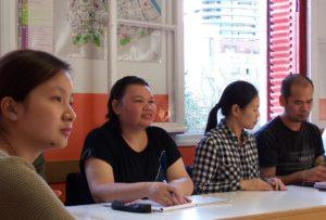 Cours de français dispensés par l'association Alpha Choisy