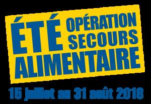Été Opération Secours alimentaire 2018