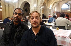 Invités de la Soupe solidaire de la Trinité