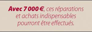 Avec 7000 euros