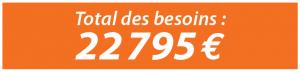 Besoins 22 795 €