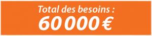 Besoin 60 000 euros