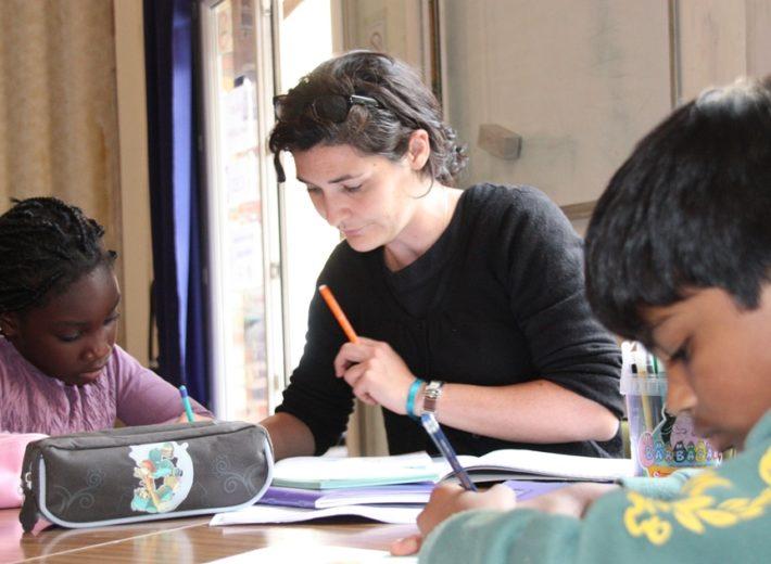 Aide aux devoirs avec l'association Choron Jeunes