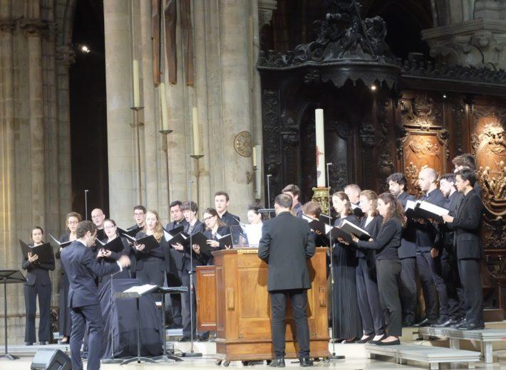 Concert de musique sacrée à Notre-Dame