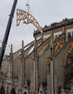 Cintre pour Notre-Dame