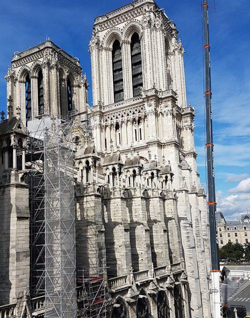 Rosace nord de Notre-Dame