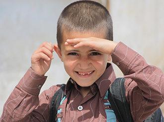 Jeune réfugié