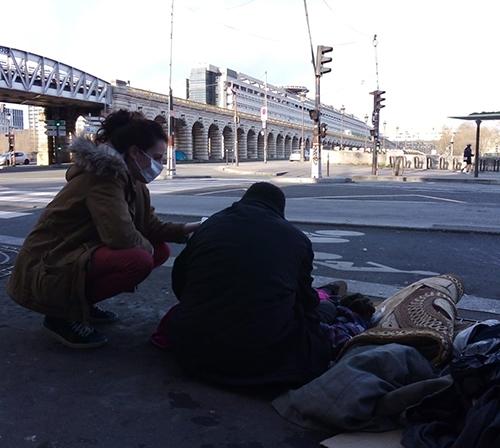 Aide aux sans-abri